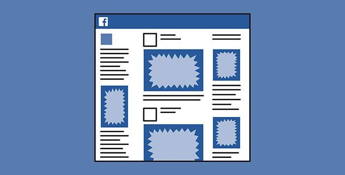 estrutura facebook