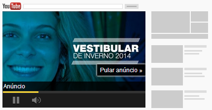 anuncio no youtube