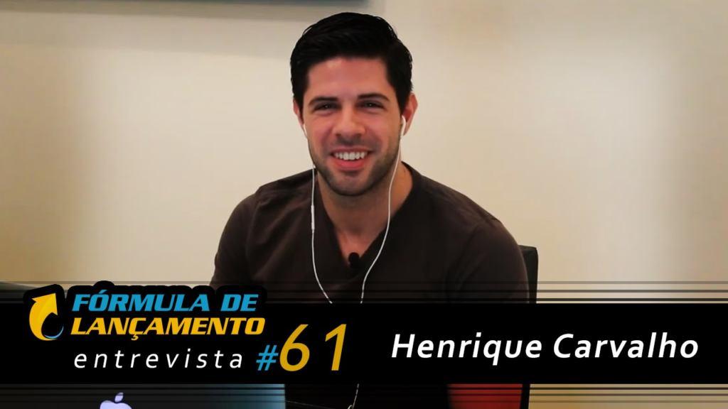 Henrique carvalho nerd rico formula de lançamento