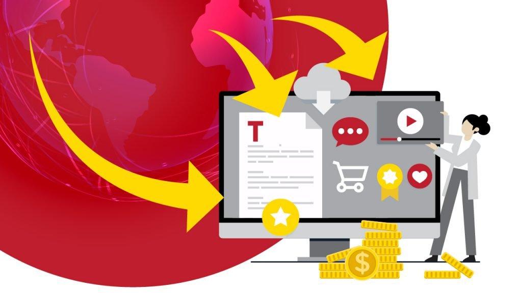 licenciar produtos digitais